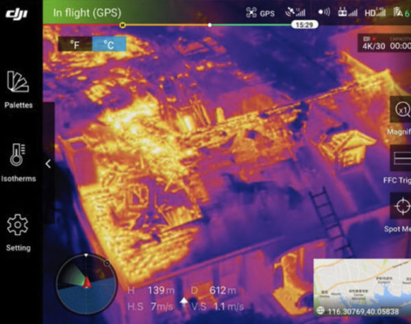 aerial infrared photography
