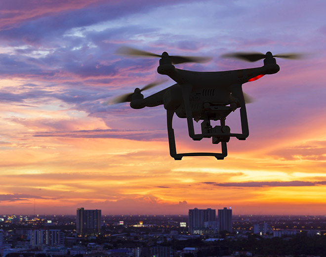 Policing the skies. New powers to punish drone misuse.