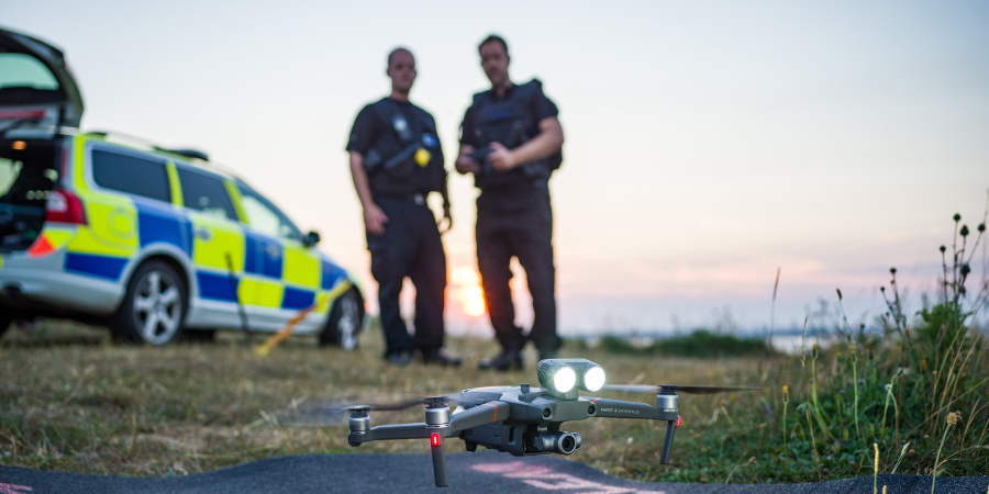 999: Britain From Above - Police with Drone
