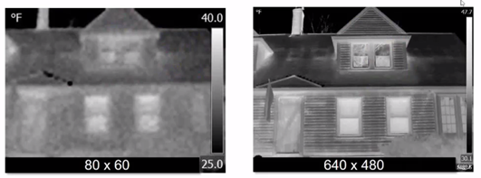 thermal camera resolution