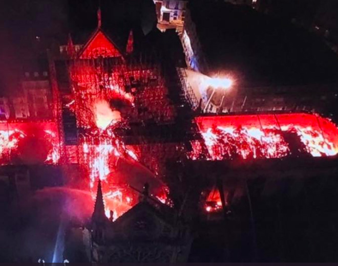 How Drones Helped Stop the Notre Dame Fire