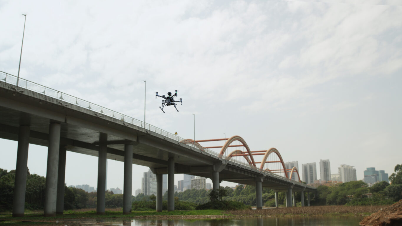 Bridge Inspection with a Drone