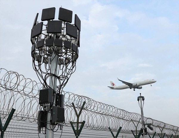 Drone threat to airports