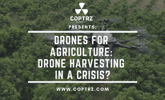 Drones For Agriculture: Drone Harvesting In A Crisis?