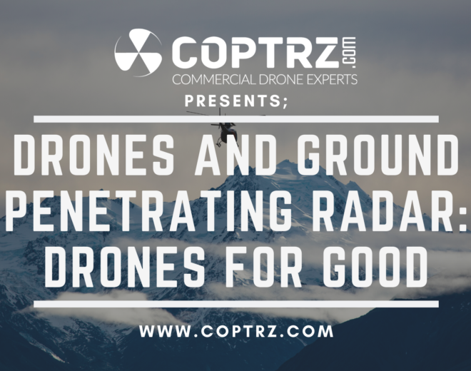 Drones And Ground Penetrating Radar: Drones For Good