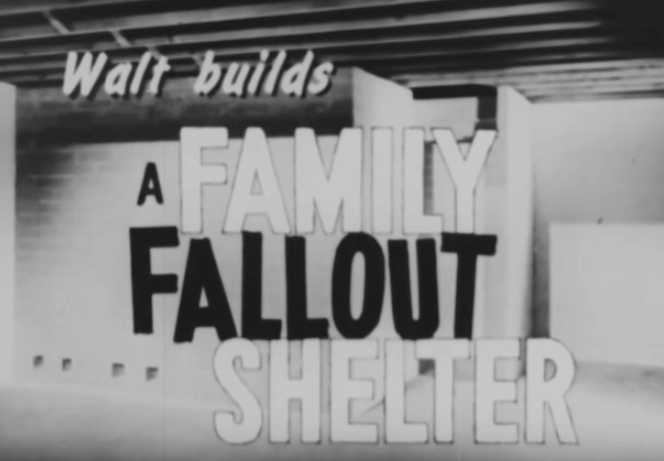 Cold War fallout shelter