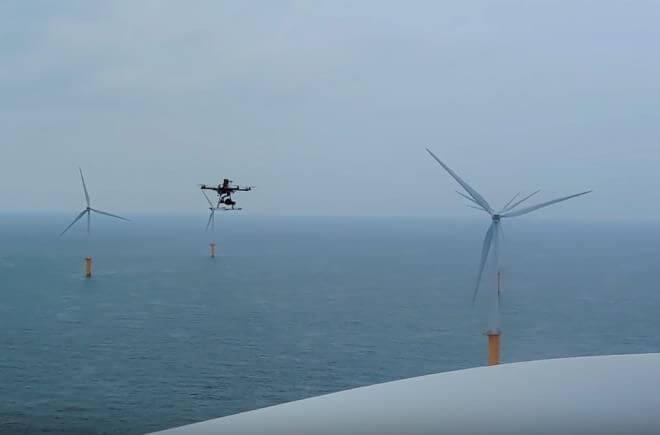 Drones and Wind Farm