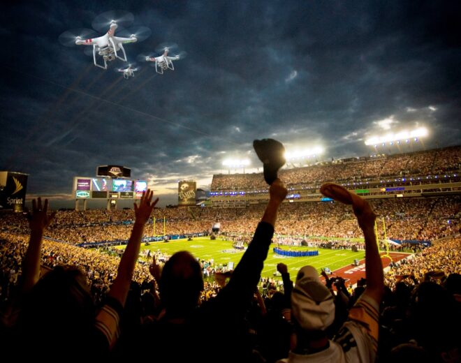 Incorporating Drones At Your Next Event